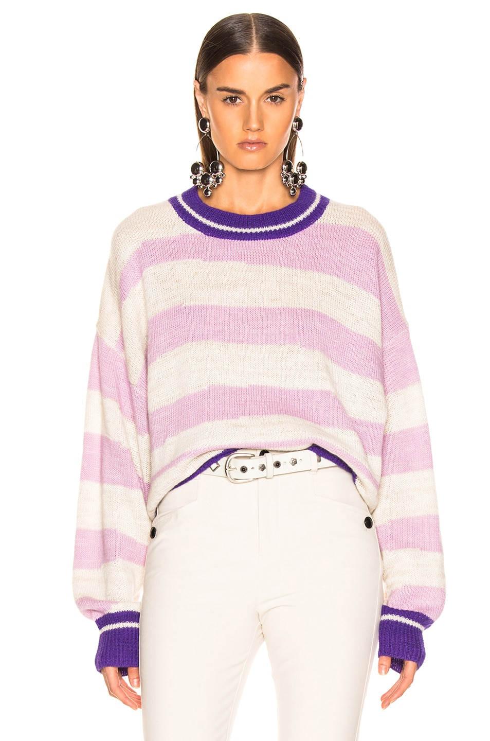Image 1 of Isabel Marant Etoile Glowy Sweater in Lilac
