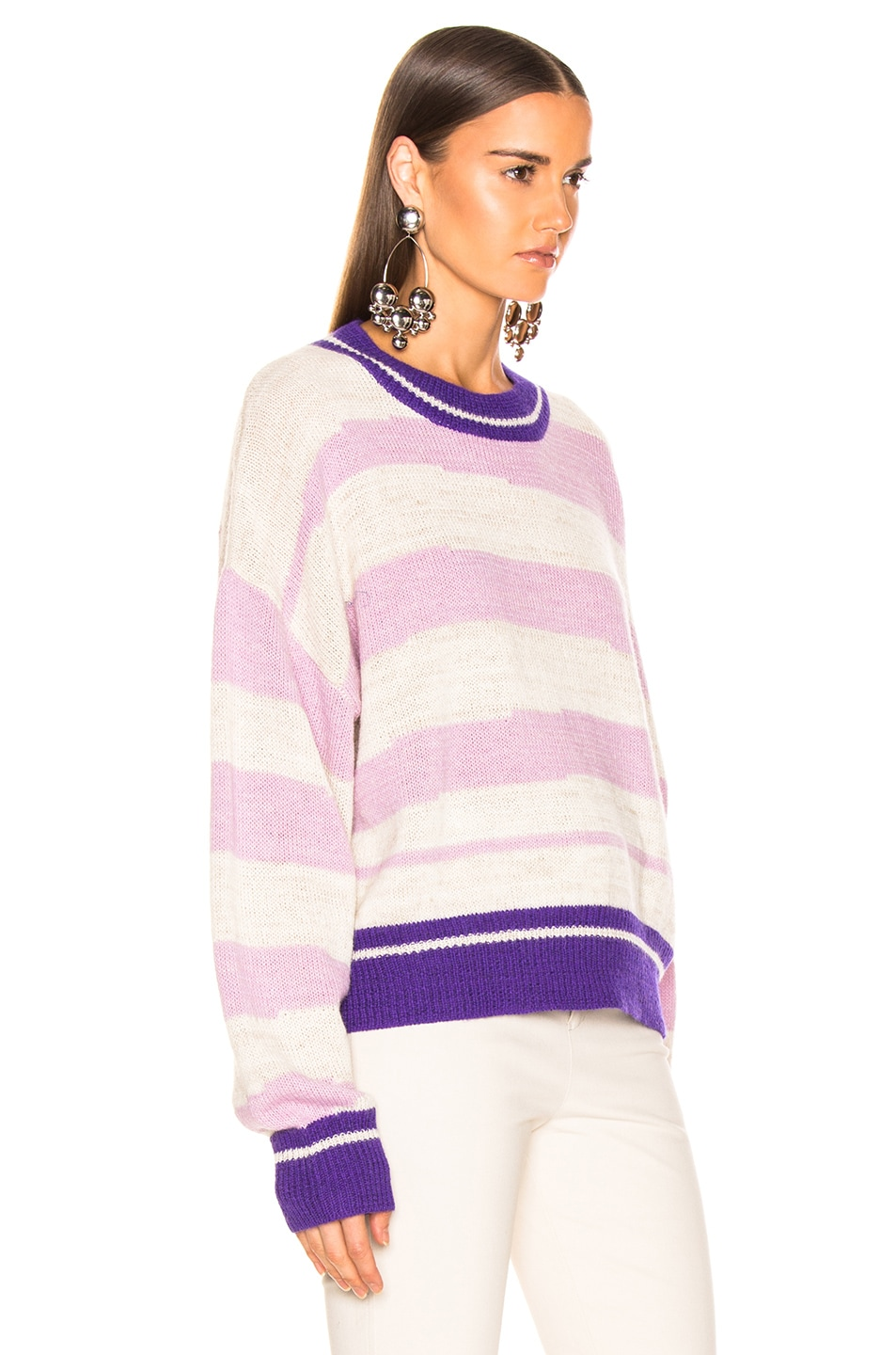 Image 2 of Isabel Marant Etoile Glowy Sweater in Lilac