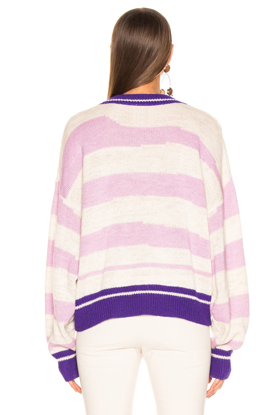 Image 3 of Isabel Marant Etoile Glowy Sweater in Lilac