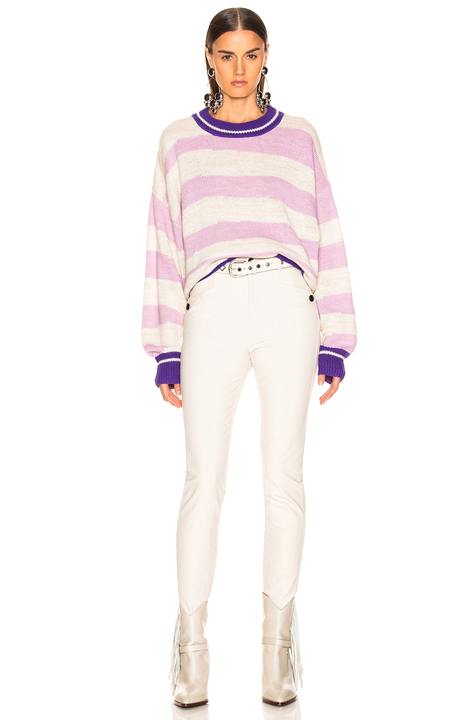 Image 4 of Isabel Marant Etoile Glowy Sweater in Lilac