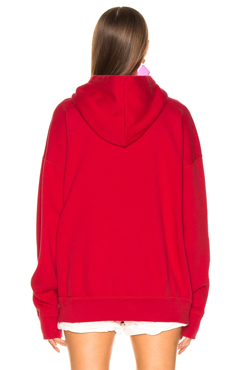 Image 3 of Isabel Marant Etoile Mansel Hoodie in Red