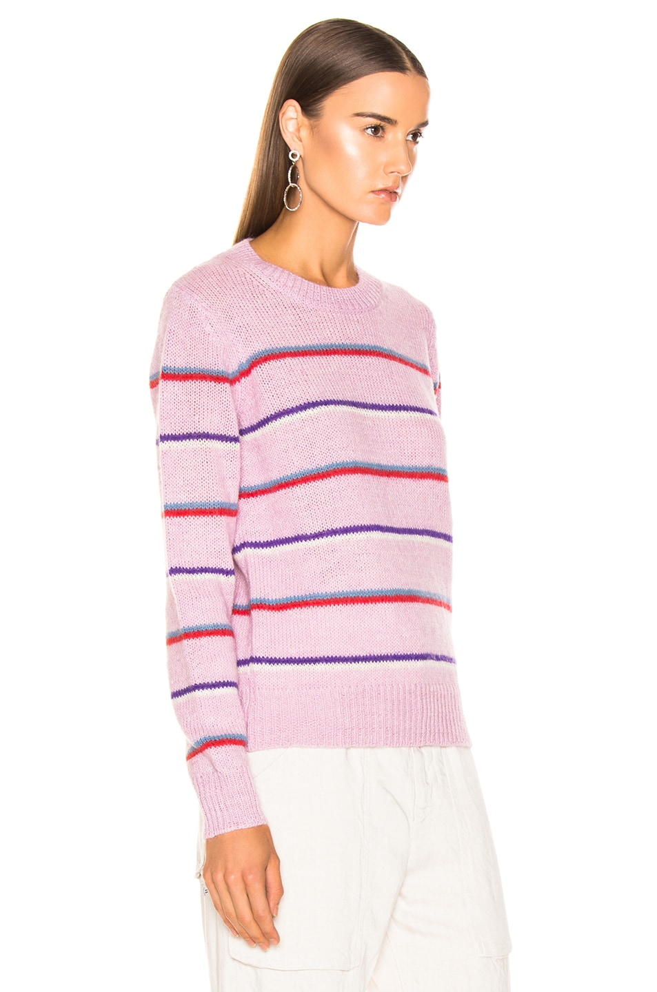 Image 2 of Isabel Marant Etoile Gian Sweater in Lilac