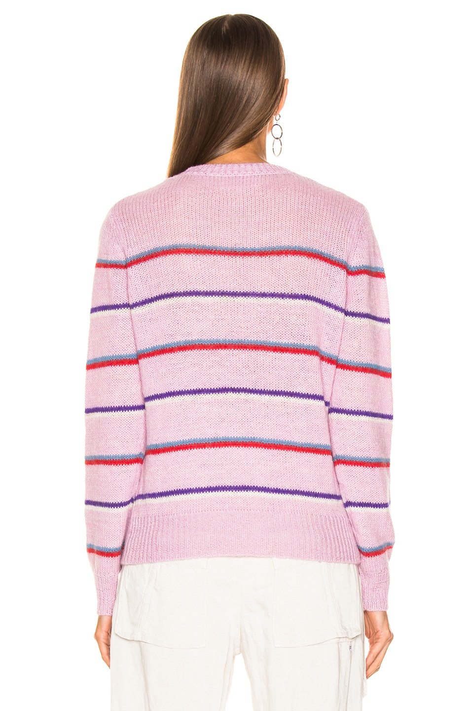 Image 3 of Isabel Marant Etoile Gian Sweater in Lilac