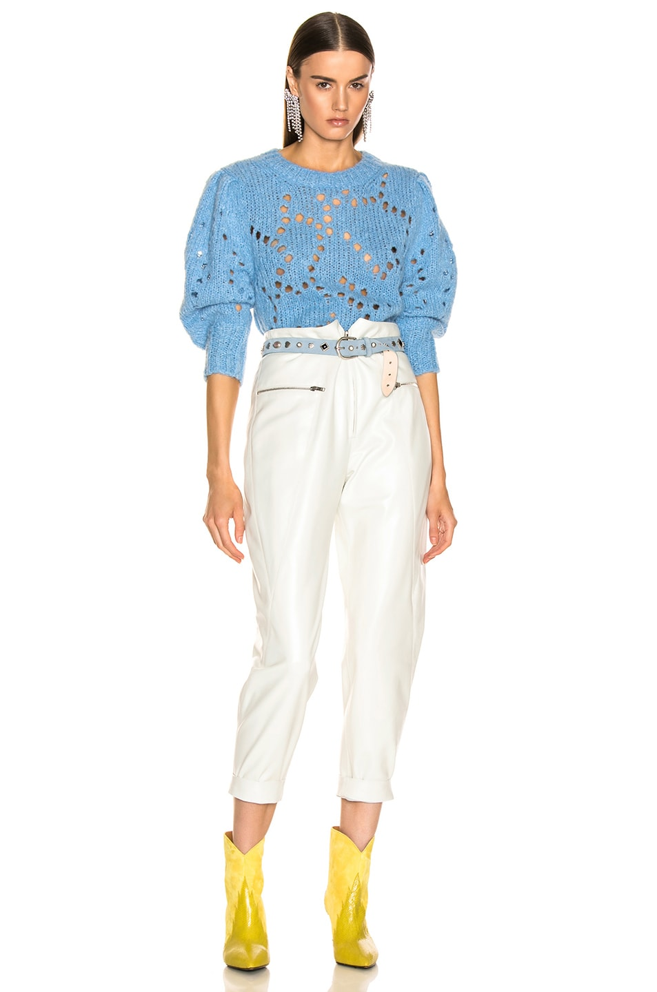 Image 4 of Isabel Marant Etoile Sinead in Light Blue