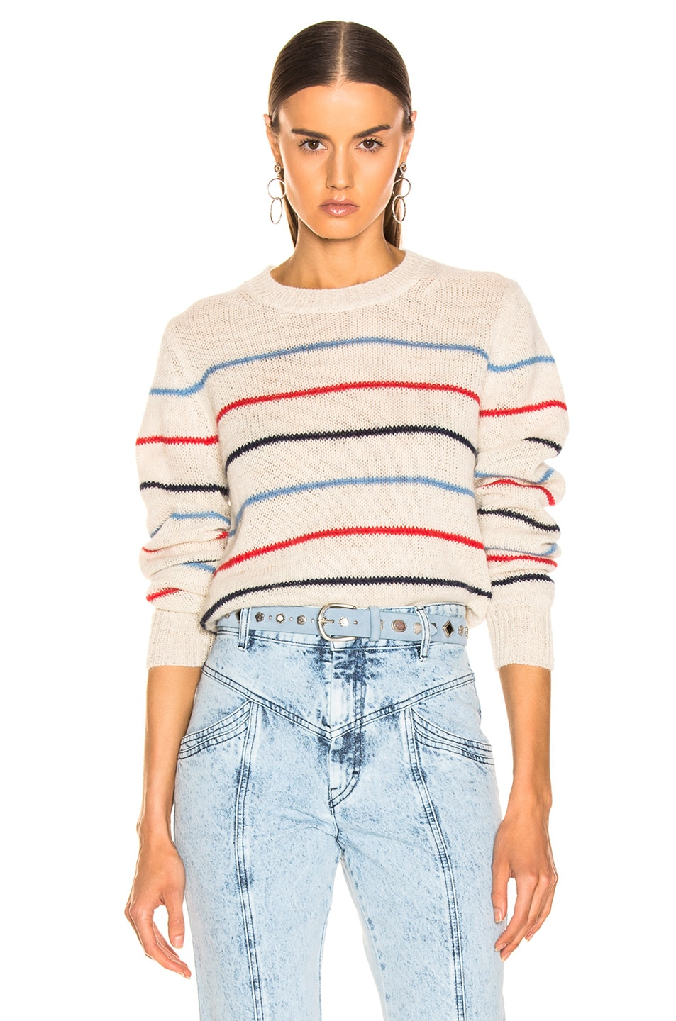 Image 1 of Isabel Marant Etoile Gian Sweater in Ecru