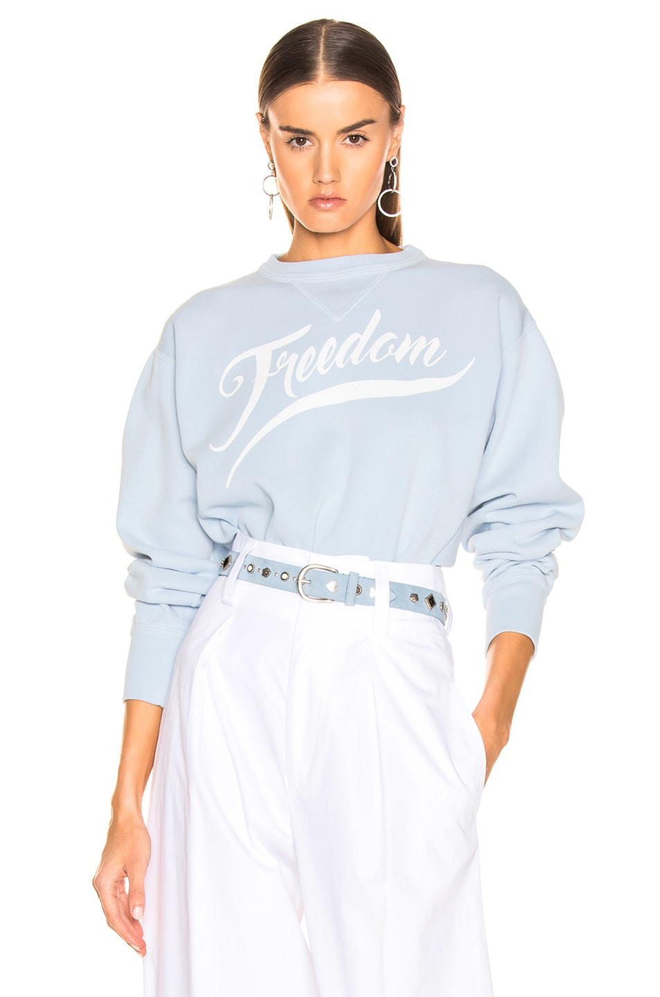 Image 1 of Isabel Marant Etoile Rise Sweater in Light Blue