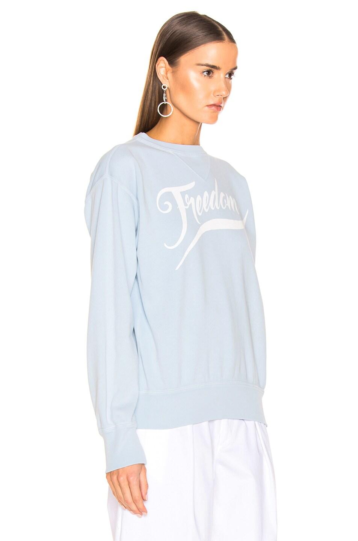 Image 2 of Isabel Marant Etoile Rise Sweater in Light Blue
