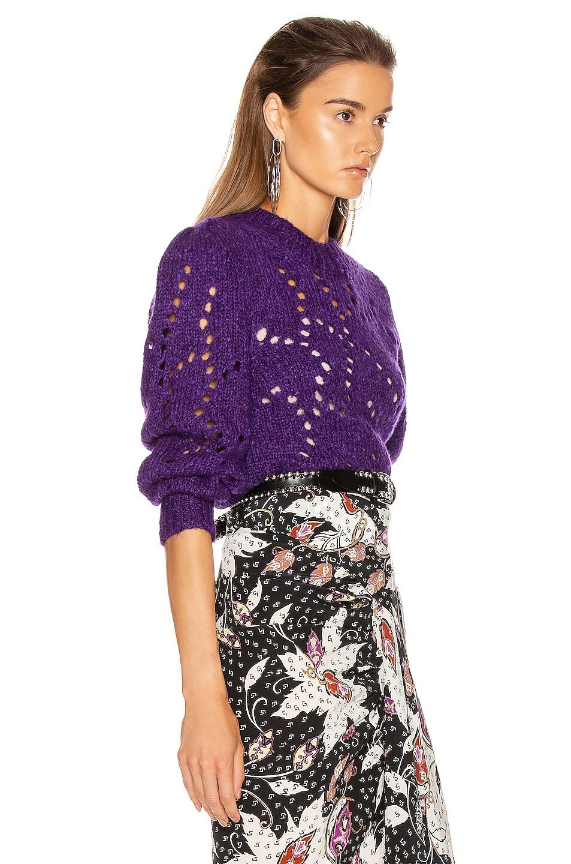 Image 2 of Isabel Marant Etoile Sineady Sweater in Purple