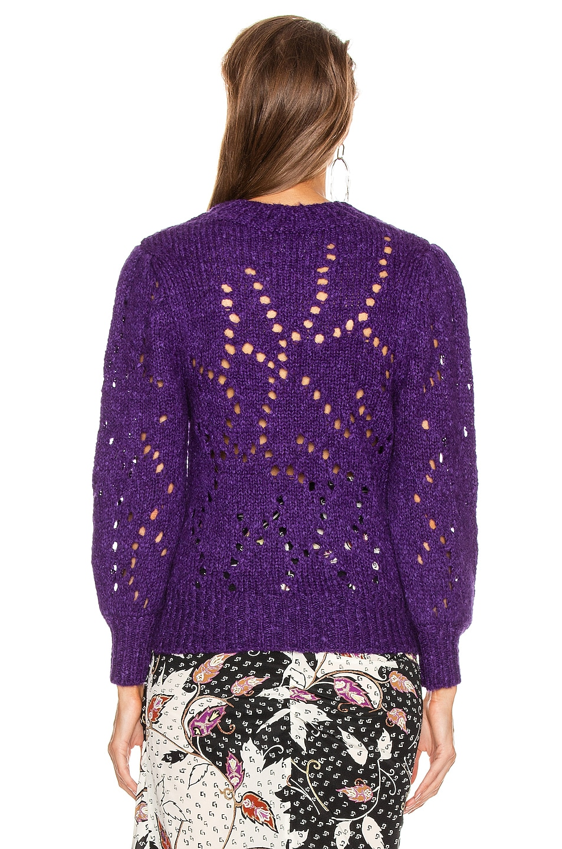 Image 3 of Isabel Marant Etoile Sineady Sweater in Purple