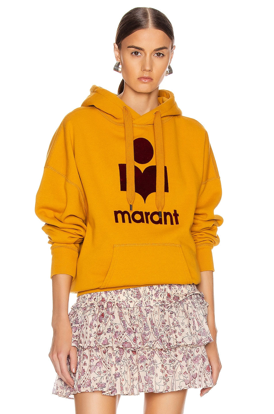 Image 1 of Isabel Marant Etoile Mansel Sweatshirt in Saffron