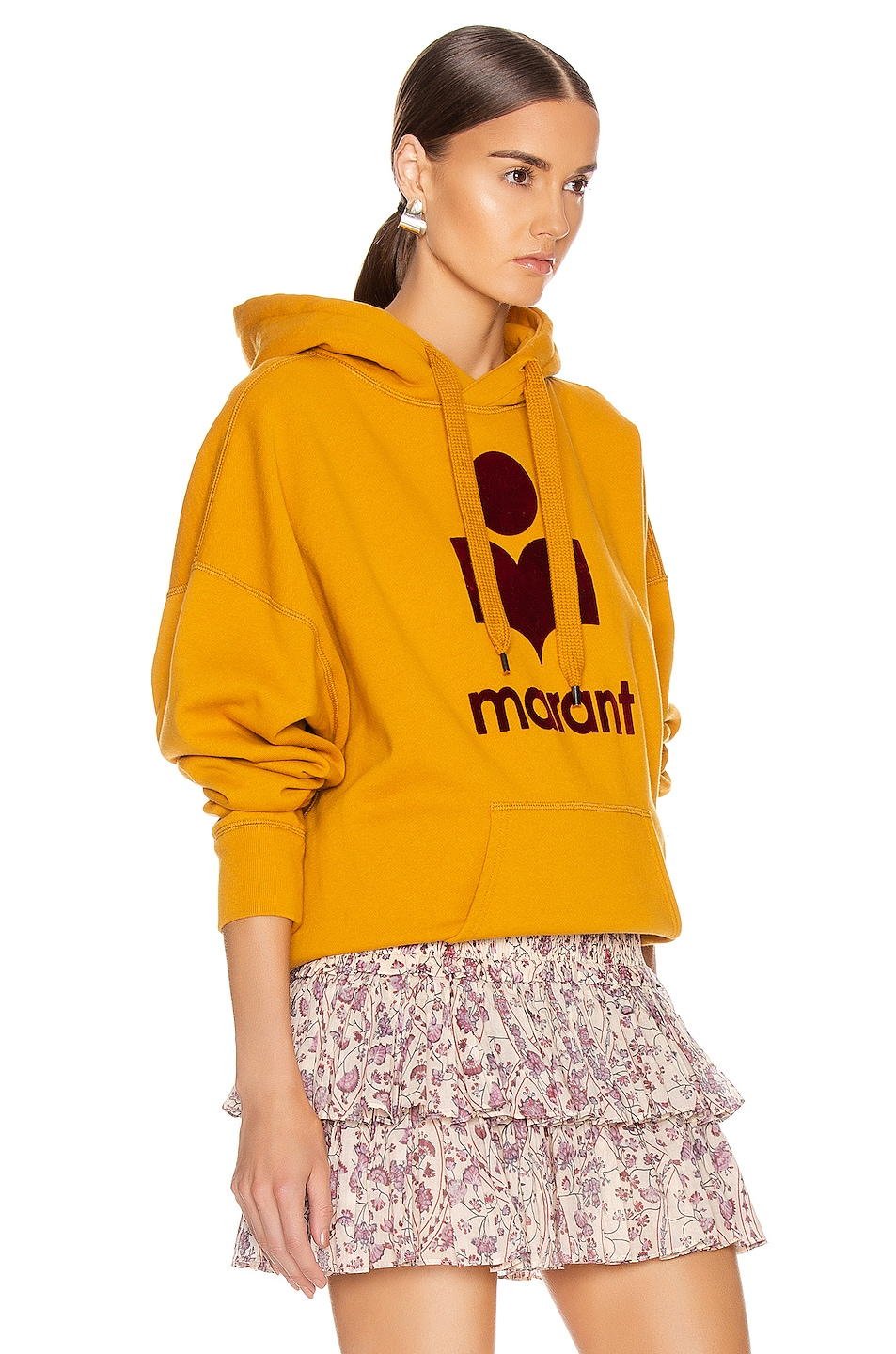 Image 3 of Isabel Marant Etoile Mansel Sweatshirt in Saffron