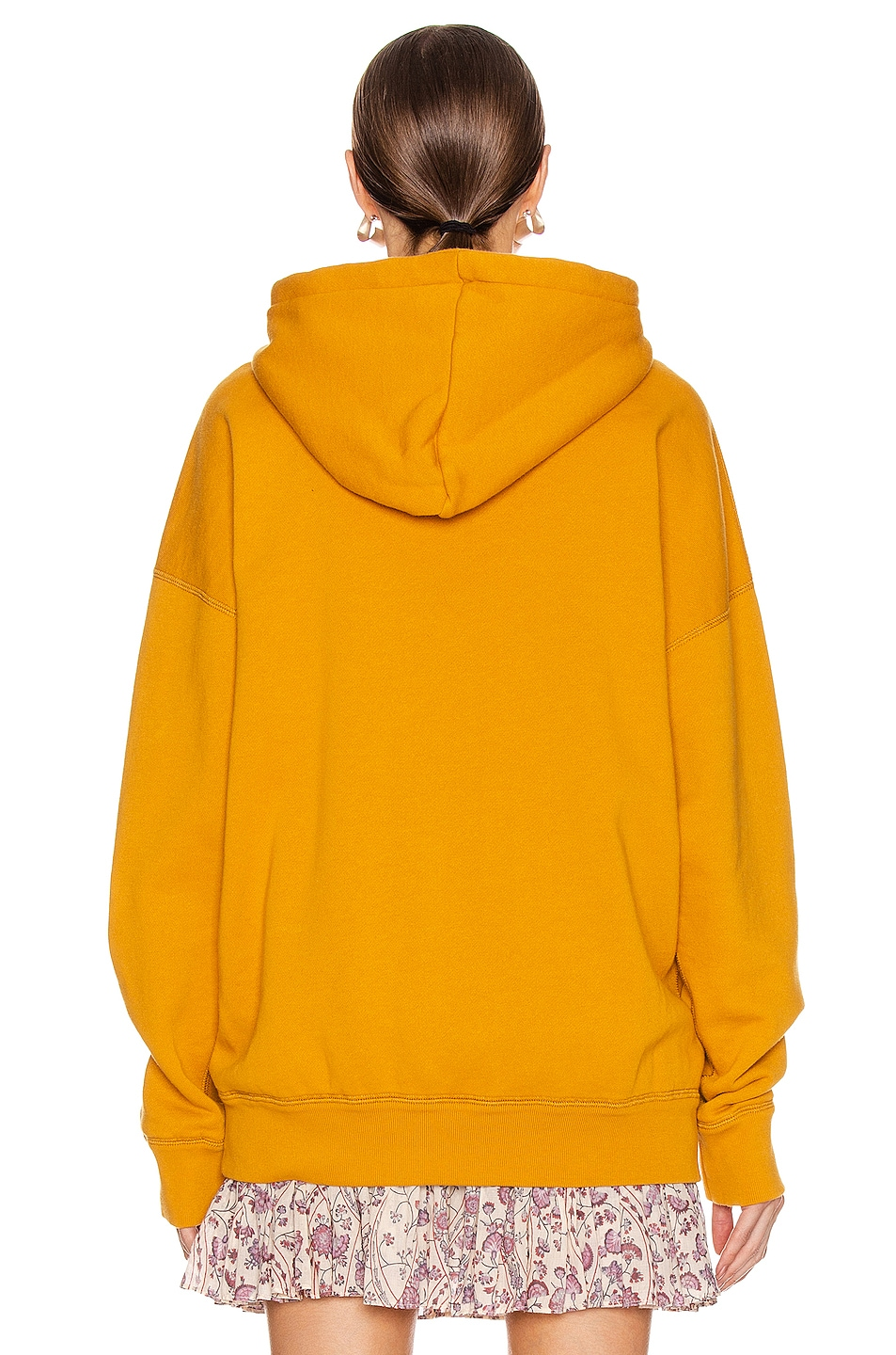 Image 4 of Isabel Marant Etoile Mansel Sweatshirt in Saffron