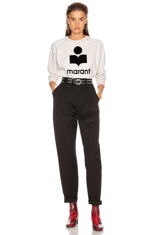 Isabel Marant Etoile Milly Sweatshirt Ecru 50%OFF