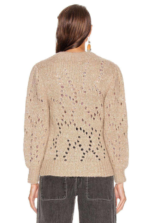 Image 3 of Isabel Marant Etoile Sineady Sweater in Beige