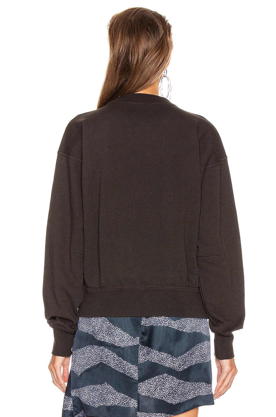 Image 3 of Isabel Marant Etoile Moby Sweater in Faded Black & Black