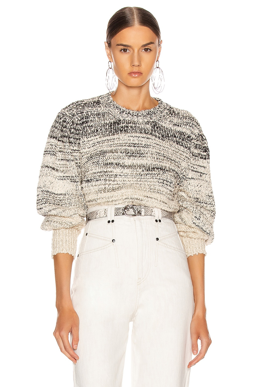 Image 1 of Isabel Marant Etoile Pleane Sweater in Grey