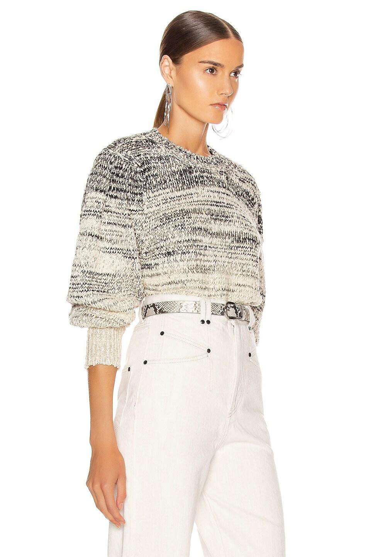 Image 2 of Isabel Marant Etoile Pleane Sweater in Grey