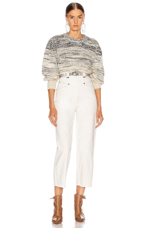 Image 4 of Isabel Marant Etoile Pleane Sweater in Grey