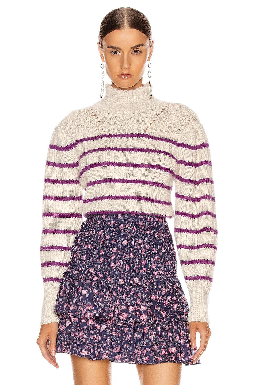Image 1 of Isabel Marant Etoile Georgia Sweater in Fuchsia