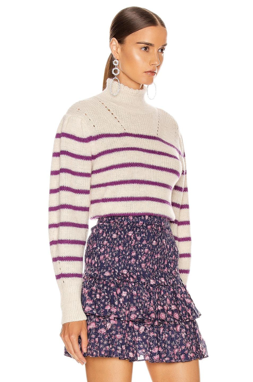 Image 2 of Isabel Marant Etoile Georgia Sweater in Fuchsia