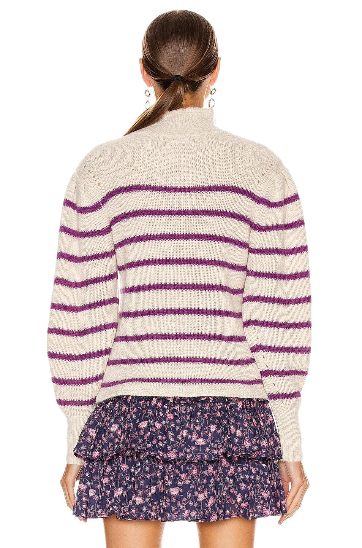 Image 3 of Isabel Marant Etoile Georgia Sweater in Fuchsia