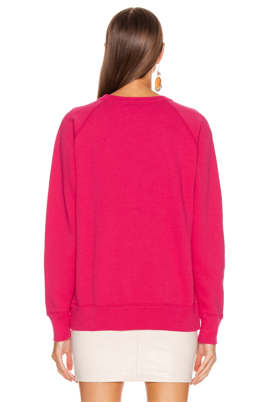 Image 3 of Isabel Marant Etoile Milly Sweatshirt in Neon Pink