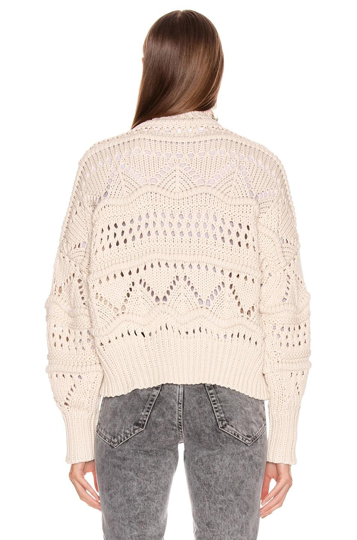 Image 3 of Isabel Marant Etoile Naka Sweater in Ecru