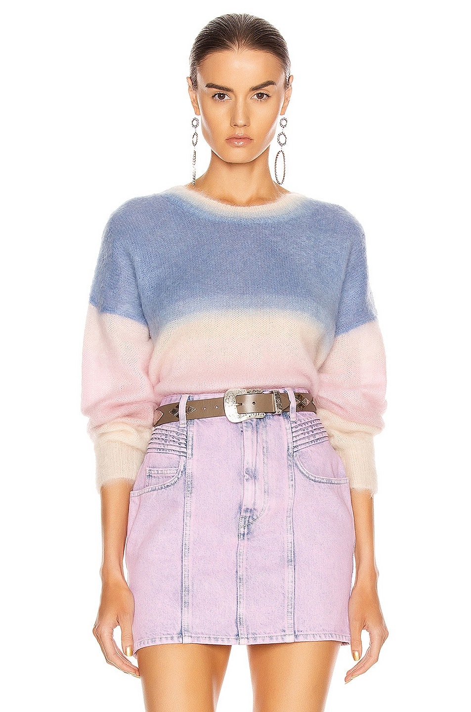 Image 1 of Isabel Marant Etoile Drussell Sweater in Blue