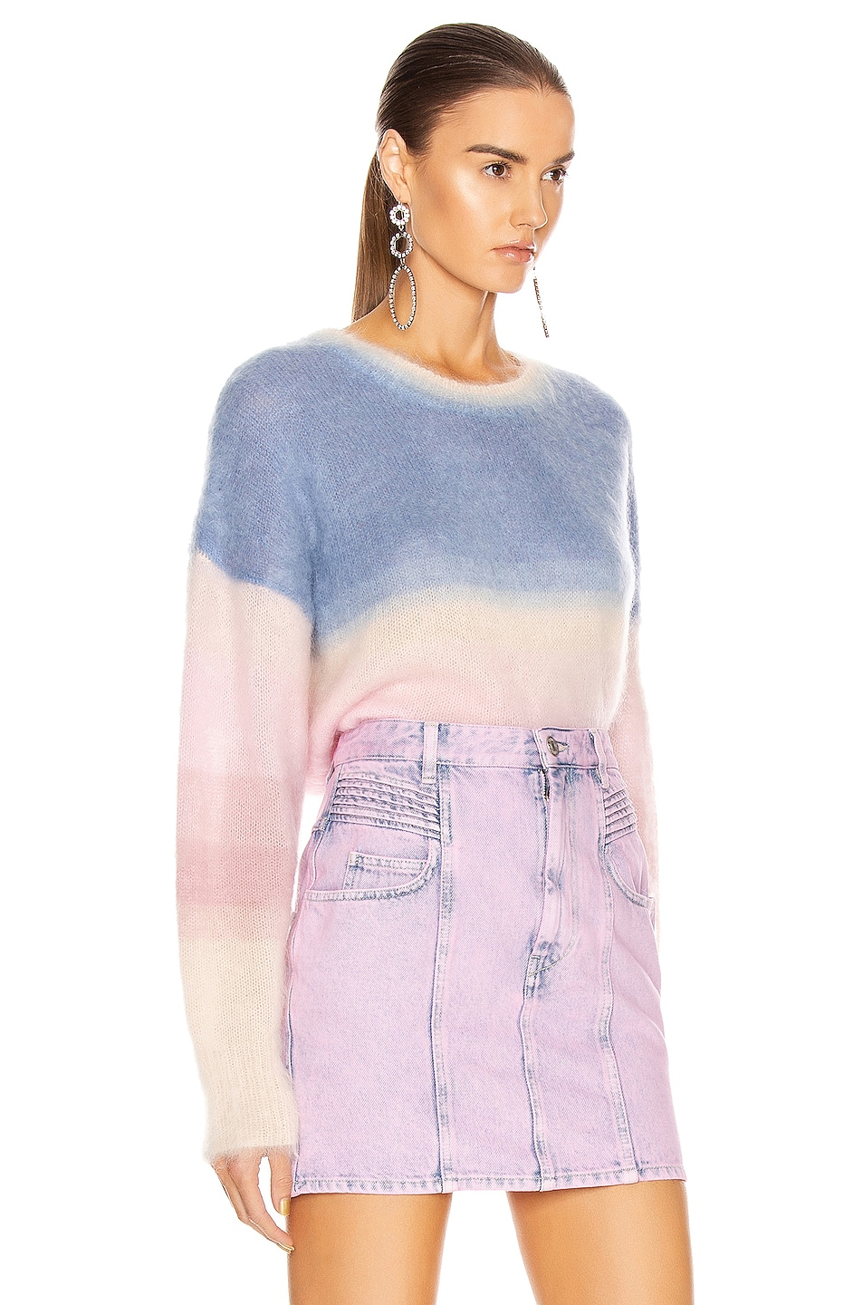 Image 3 of Isabel Marant Etoile Drussell Sweater in Blue