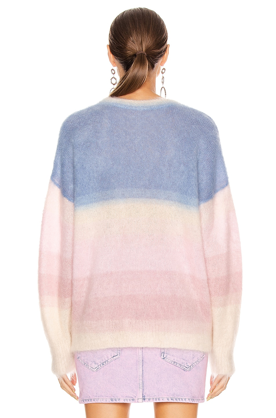 Image 4 of Isabel Marant Etoile Drussell Sweater in Blue