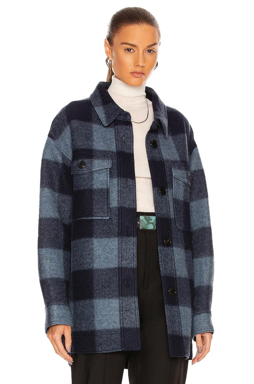 Image 1 of Isabel Marant Etoile Harveli Jacket in Midnight