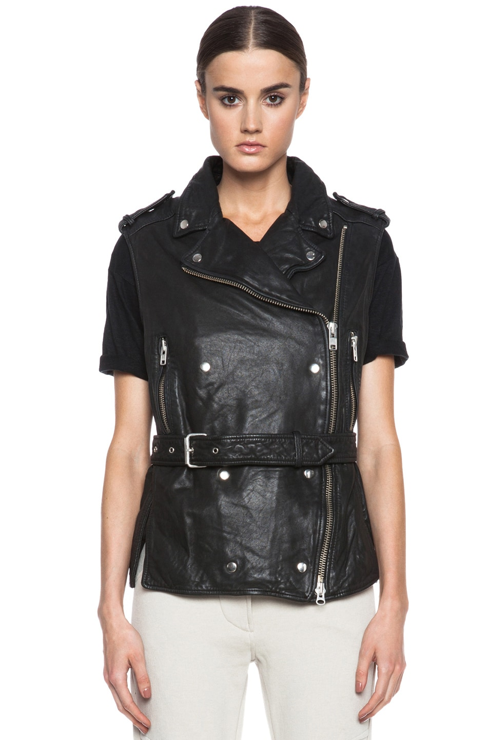 isabel marant leather