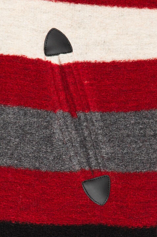 Image 6 of Isabel Marant Etoile Fimo Blanket Coat in Red