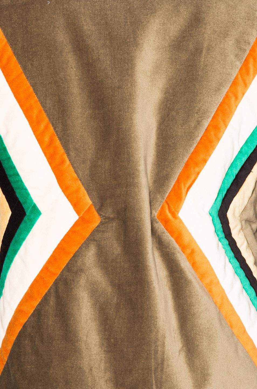 Image 6 of Isabel Marant Etoile Lalia Velvet Patch Jacket in Taupe
