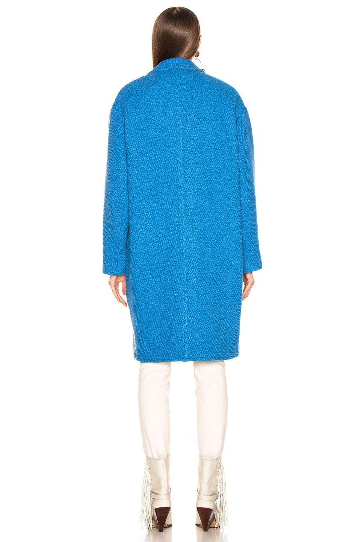 Image 4 of Isabel Marant Etoile Gimi Coat in Blue