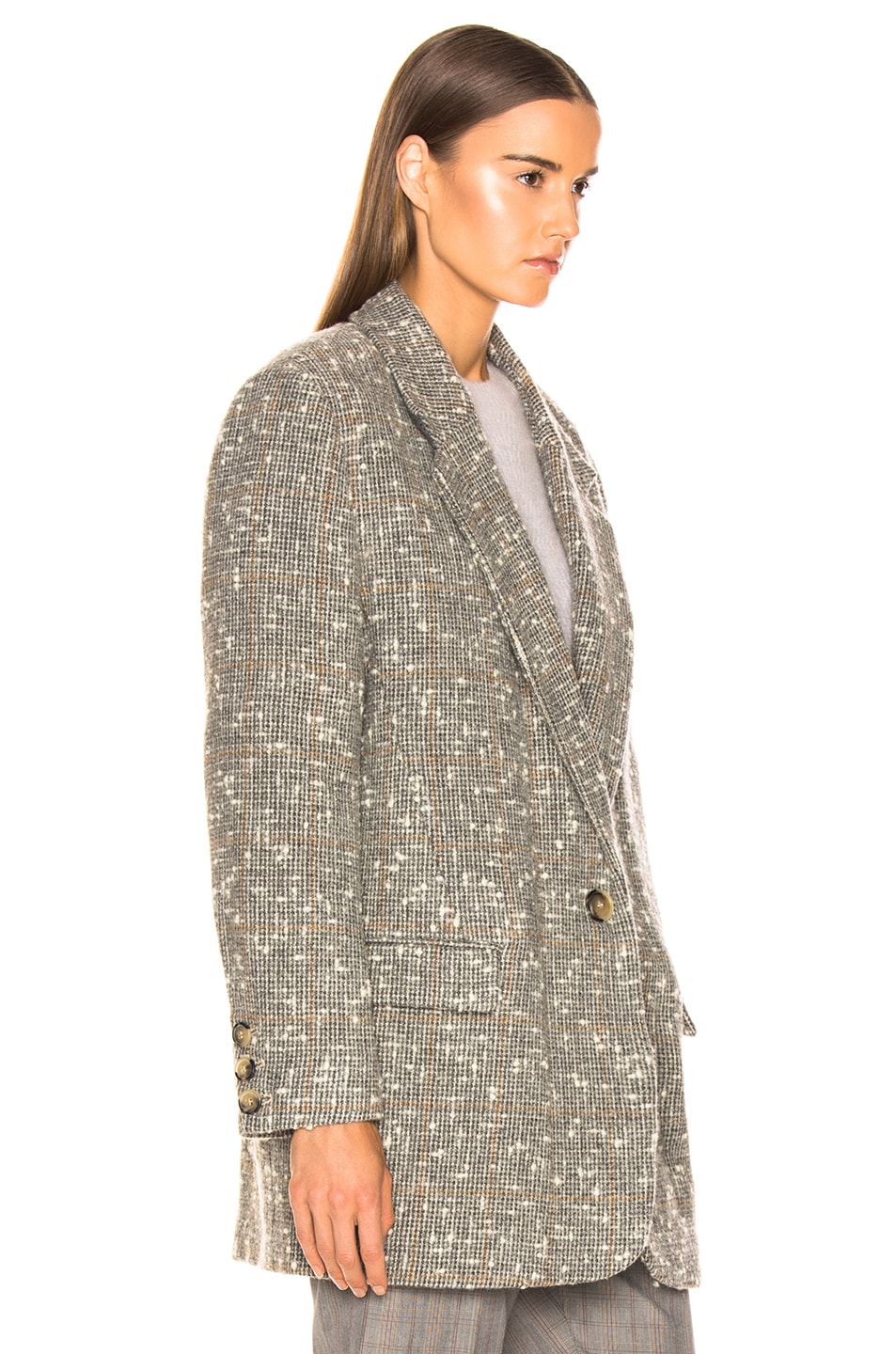 Image 3 of Isabel Marant Etoile Orix Blazer in Grey