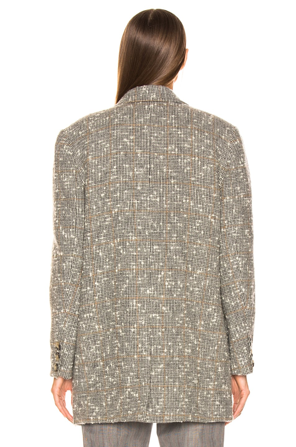 Image 4 of Isabel Marant Etoile Orix Blazer in Grey