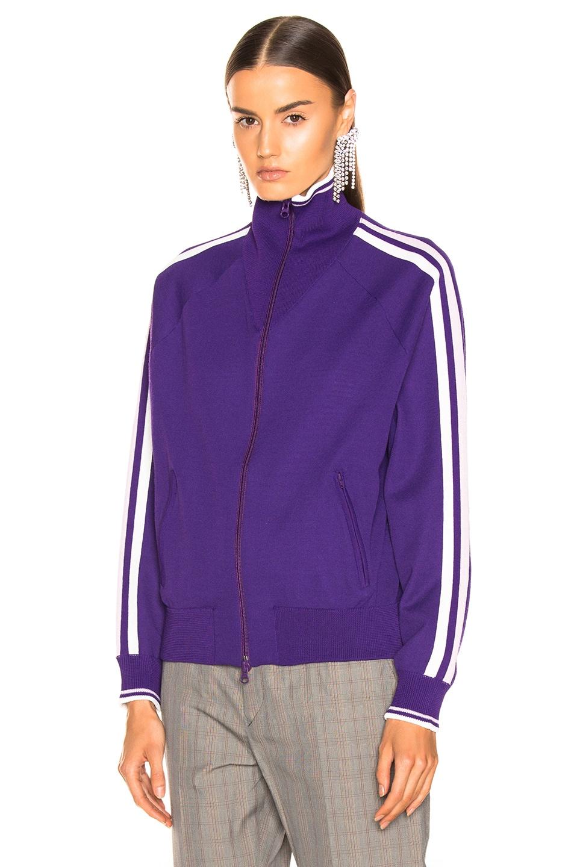 Image 3 of Isabel Marant Etoile Darcey Knit Jacket in Purple