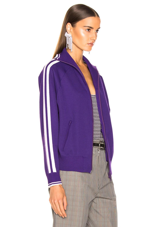 Image 4 of Isabel Marant Etoile Darcey Knit Jacket in Purple