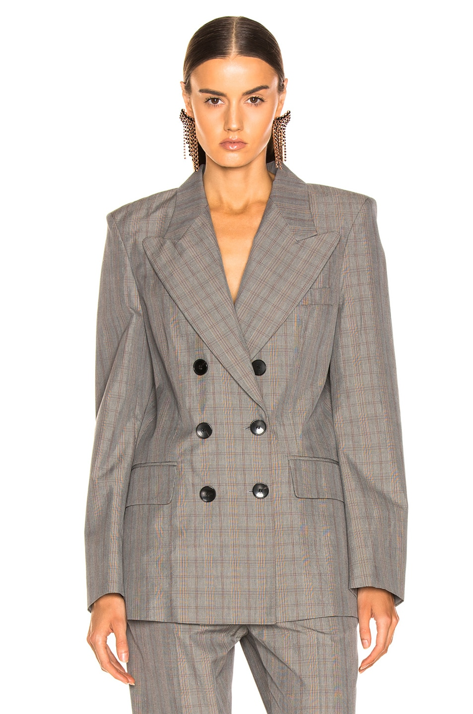 Image 1 of Isabel Marant Etoile Iliane Blazer in Grey