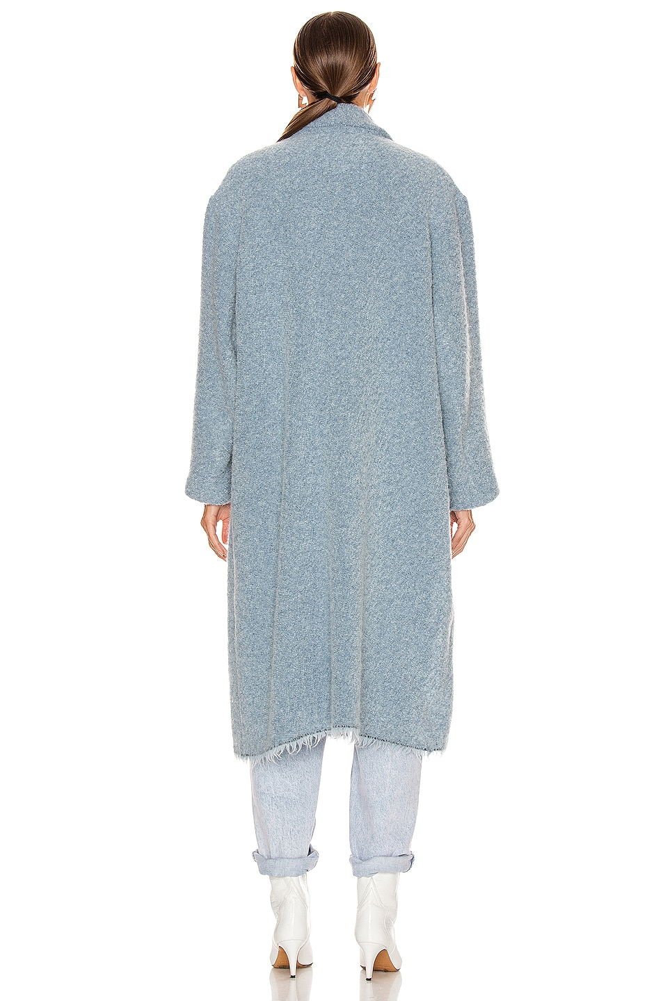 Image 3 of Isabel Marant Etoile Faby Coat in Blue