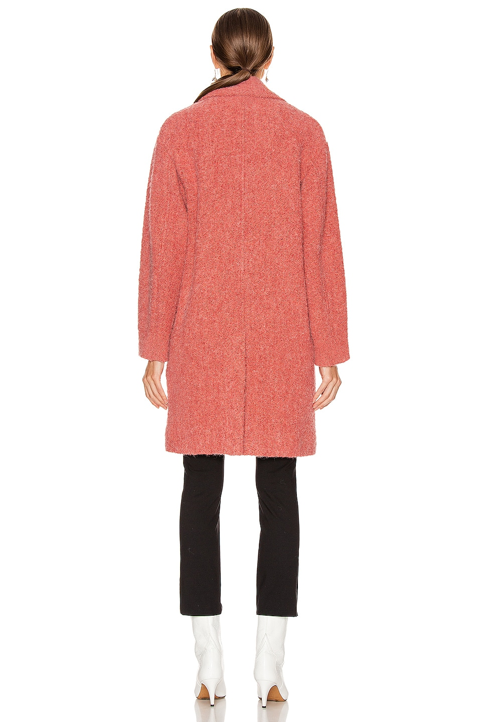 Image 4 of Isabel Marant Etoile Dante Coat in Pink