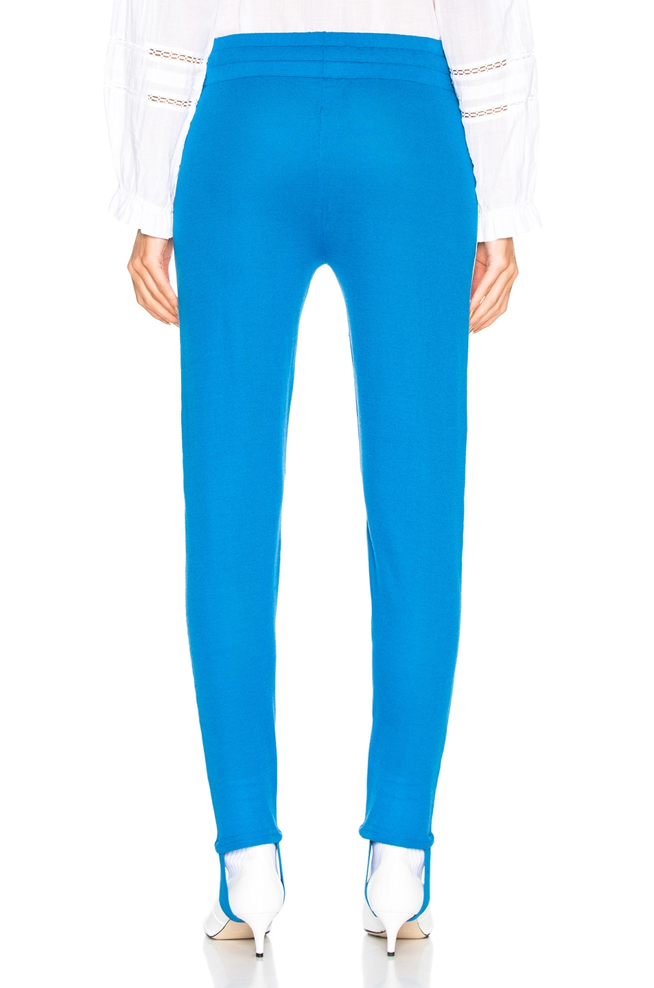 Image 3 of Isabel Marant Etoile Doriann Sporty Knit Track Pants in Electric Blue