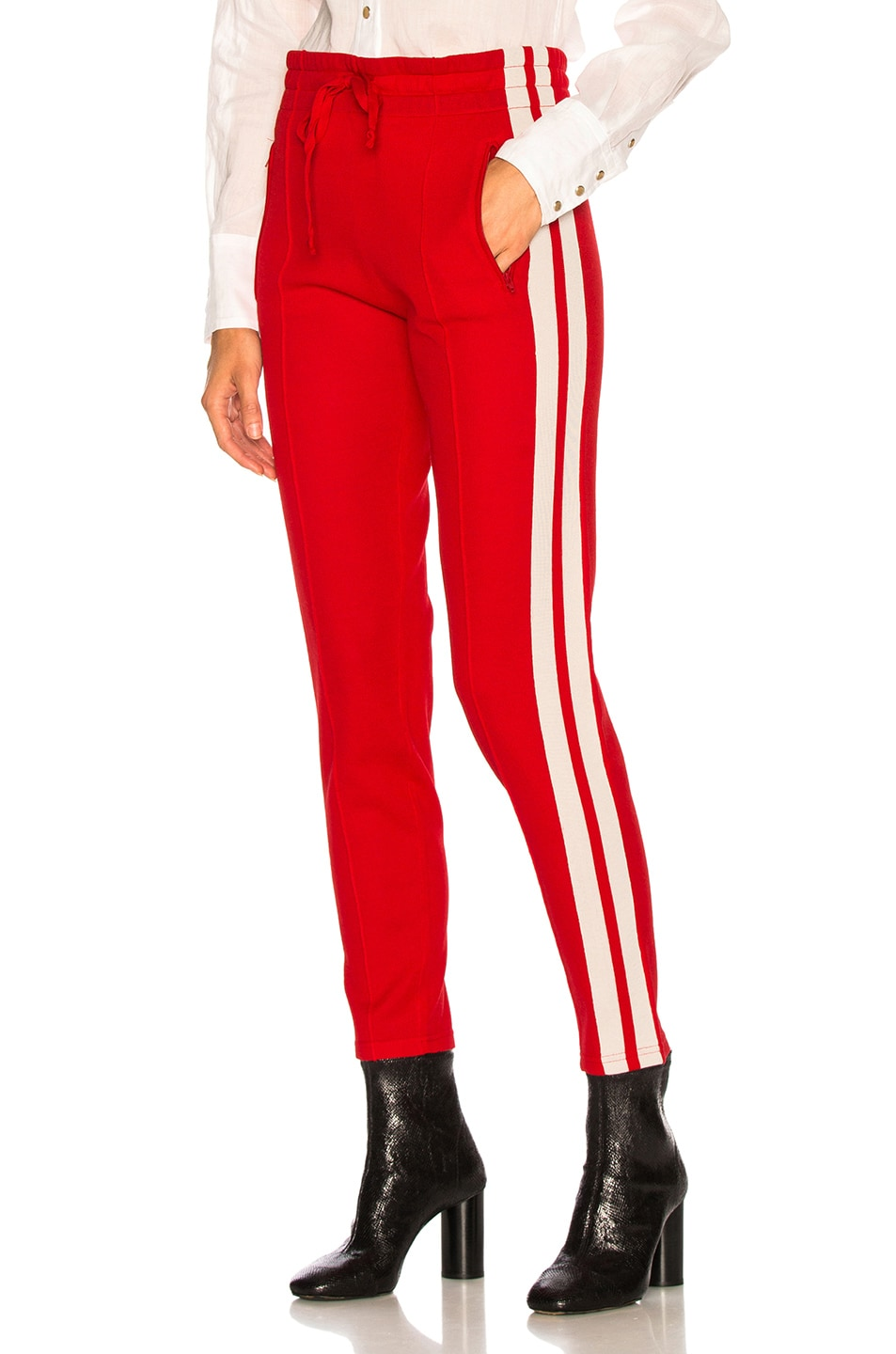 Image 1 of Isabel Marant Etoile Dario Pant in Red