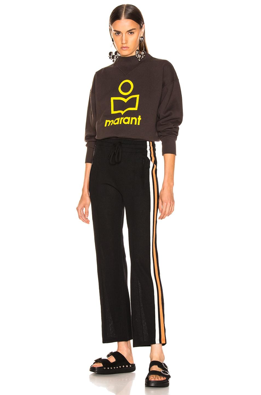 Image 5 of Isabel Marant Etoile Dobbs Pant in Black
