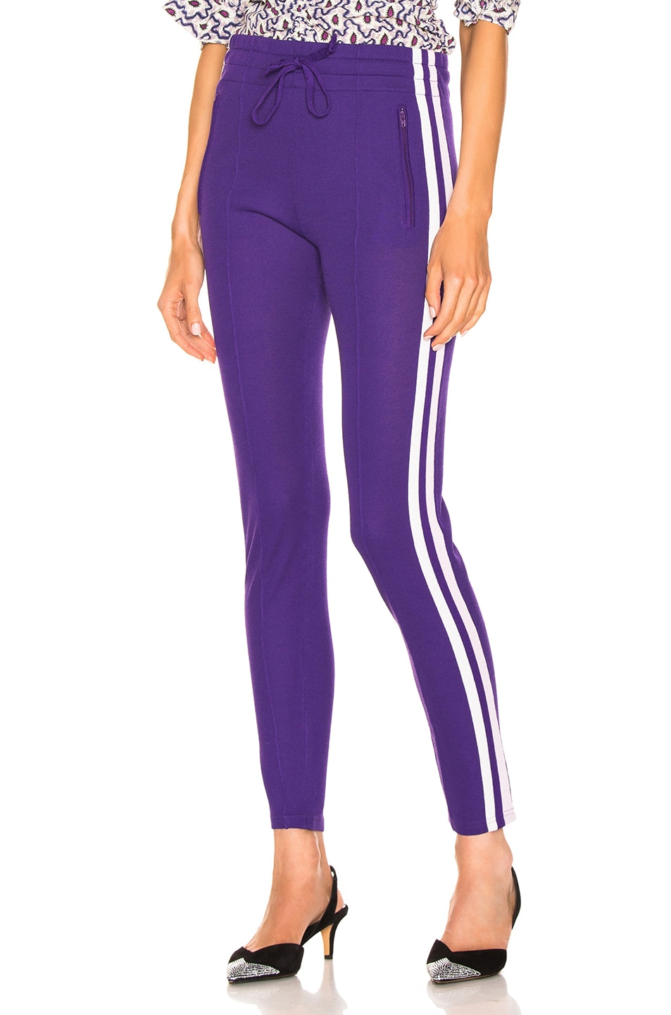 Image 1 of Isabel Marant Etoile Dario Pant in Purple