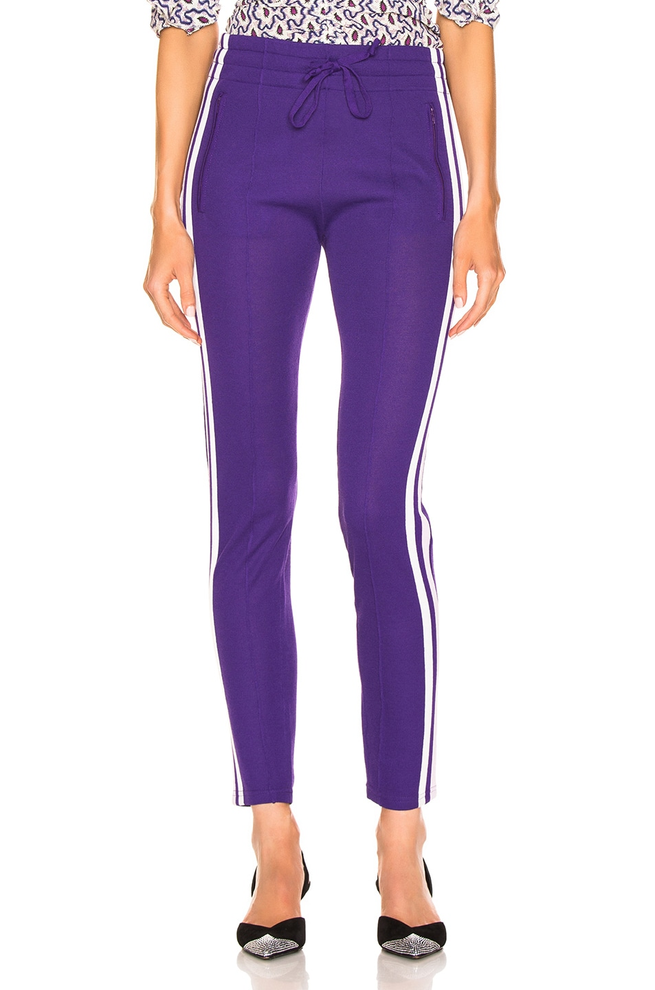 Image 2 of Isabel Marant Etoile Dario Pant in Purple
