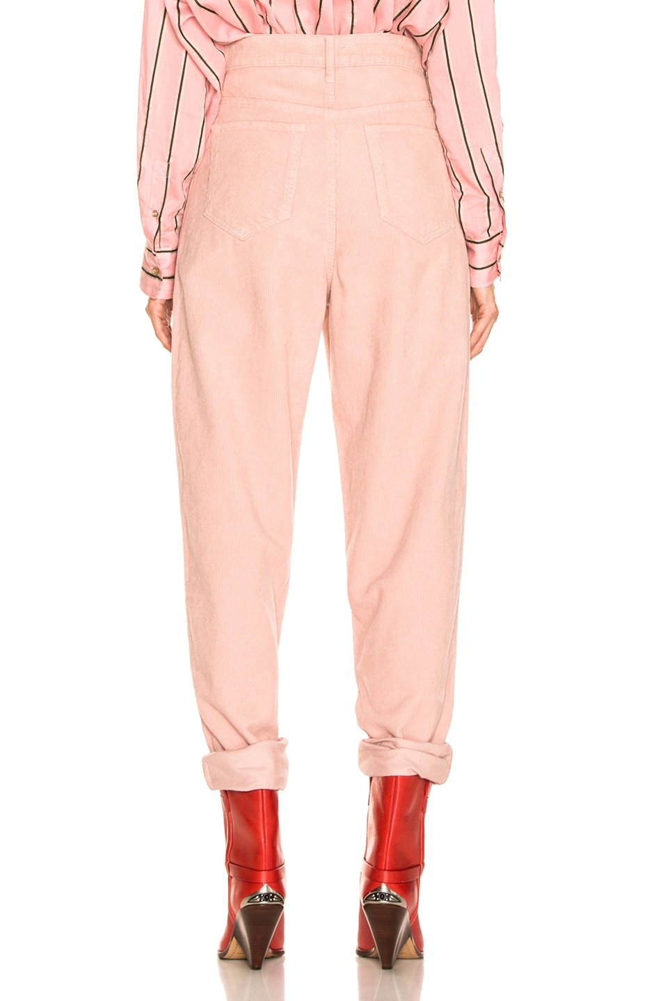 Image 3 of Isabel Marant Etoile Corsy Pant in Light Pink