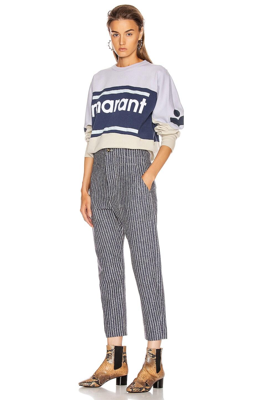 Image 4 of Isabel Marant Etoile Praluni Pant in Blue