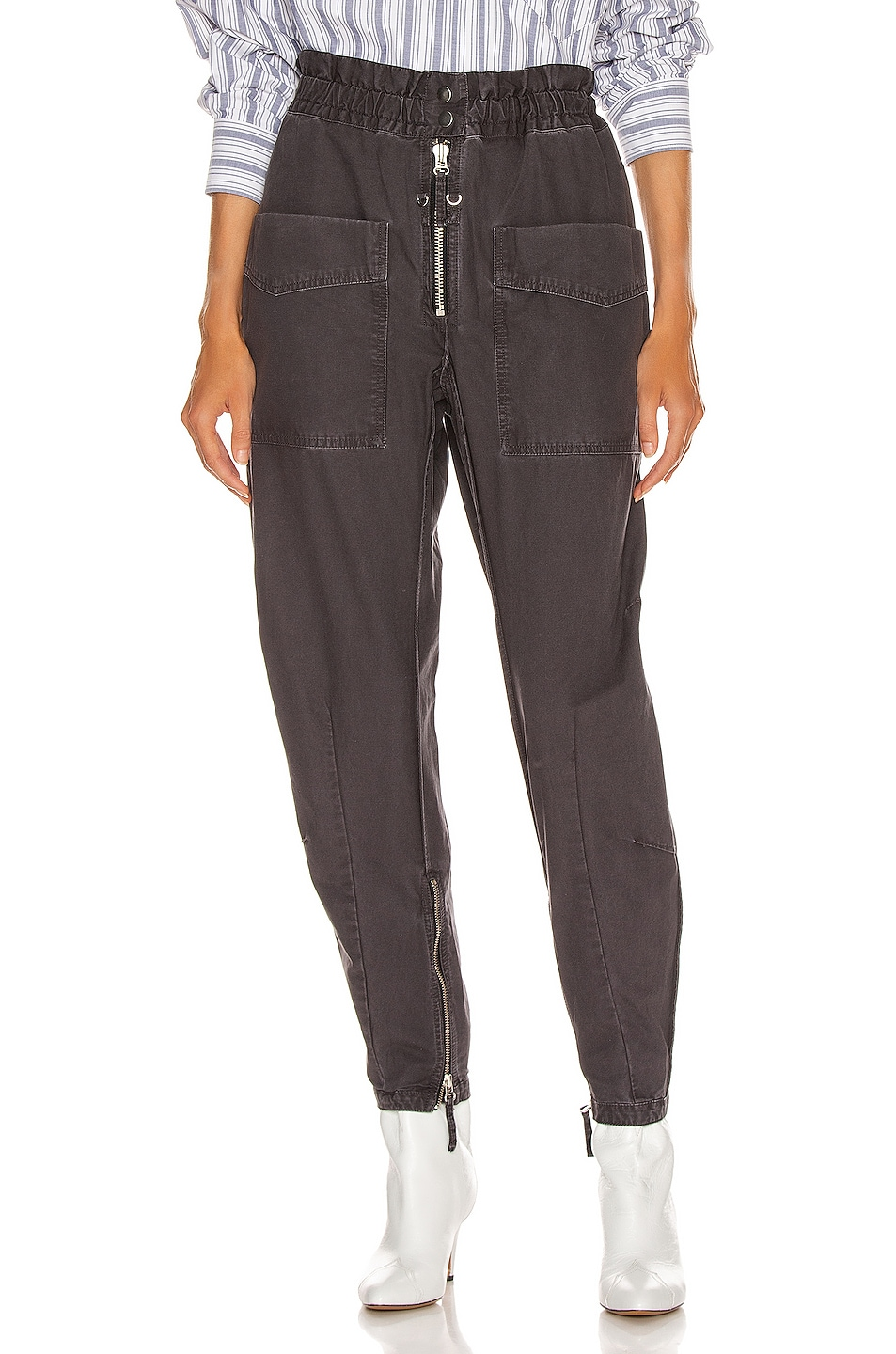 Image 1 of Isabel Marant Etoile Lecia Pant in Faded Black